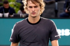 Alexander Zverev post-match relief