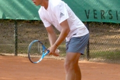 Alexandre Muller awaiting serve