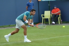 Bernabe Zapata Miralles backhand warm-up