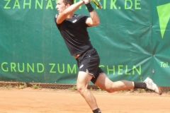 Corentin Denolly backhand shot