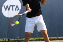 Egor Gerasimov forehand warm up shot