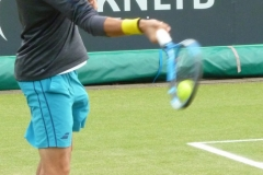 Evgeny Donskoy warming up the forehand