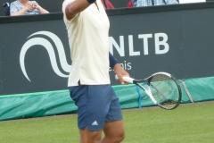 Fernando Verdasco asks for a ball