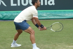 Fernando Verdasco awaiting serve