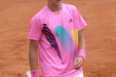 Henri Squire is the youngest player in the qualifying draw