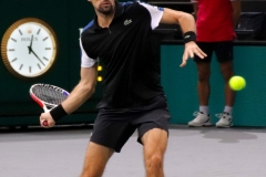 Jeremy Chardy forehand warm-up