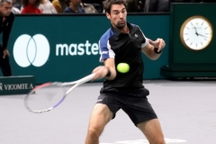 Jeremy Chardy return shot