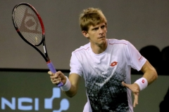 Kevin Anderson volley warm-up