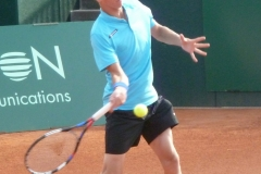 Kimmer Coppejans forehand warm up
