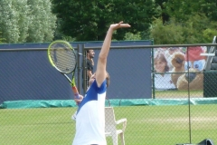 Richard Gasquet serving