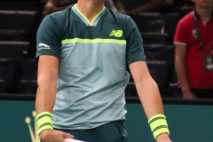 Milos Raonic ready to serve