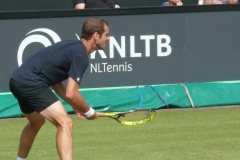 Richard Gasquet awaiting serve