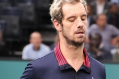 Richard Gasquet in a moment of contemplation