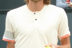 Stefanos Tsitsipas in between points