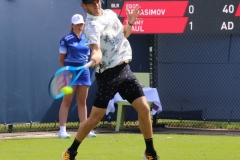 Tommy Paul slams a forehand