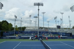 US Open Courts 8, 9 and 10 (foreground)