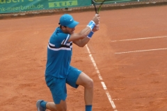 Yshai Oliel backhand shot