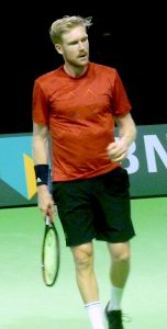 Matthias Bachinger at ABN-AMRO World Tennis Tournament Rotterdam Qualifying