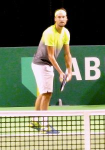 Ruben Bemelmans at ABN-AMRO World Tennis Tournament Rotterdam Qualifying