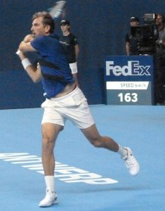 Julien Benneteau at European Open Tennis Antwerp 2017