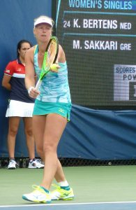 Kiki Bertens at US Open New York