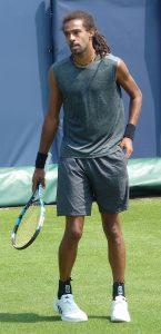 Dustin Brown at Libema Open Qualifying