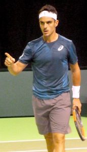 Thomas Fabbiano at ABN-AMRO World Tennis Tournament Rotterdam Qualifying