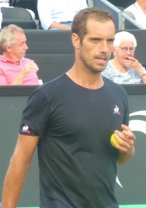 Richard Gasquet at Libema Open Den Bosch
