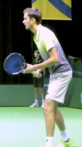 Daniil Medvedev at ABN-AMRO World Tennis Tournament Rotterdam Qualifying