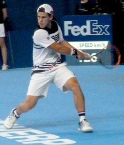 Diego Schwartzman at European Open Tennis Antwerp 2017