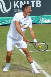 Bernard Tomic at Libema Open Den Bosch