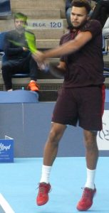 Jo-Wilfried Tsonga at European Open Tennis Antwerp 2017