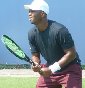 Donald Young at Libema Open Qualifying