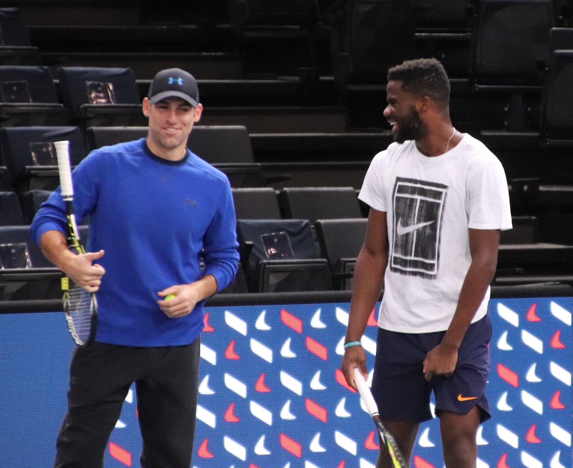 Rolex Paris Masters warm-up session photos