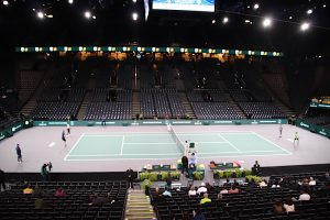 Paris Masters tennis tournament centre court